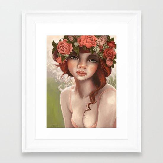 May Queen Framed Art Print