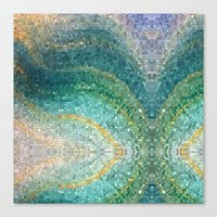 The Mermaid's Tail Canvas Print