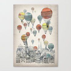 Voyages over Edinburgh Canvas Print