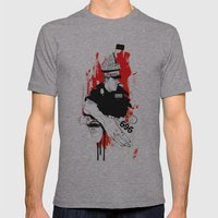 Form 696 Mens Fitted Tee Athletic Grey SMALL