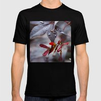 Japanese Maple Seeds II Mens Fitted Tee Black SMALL