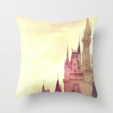 Disney Cinderella Castle Throw Pillow