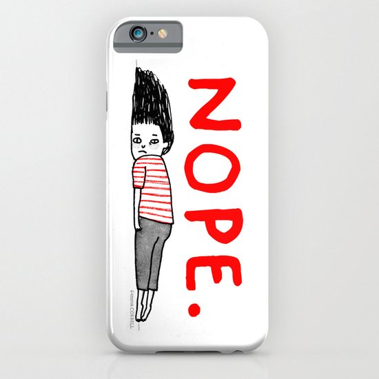 Nope iPhone & iPod Case
