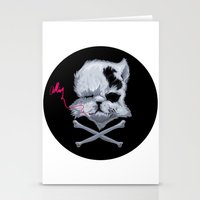 MURDERKITTEN Stationery Cards