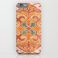 Brown Mandala 02 iPhone 6 Slim Case