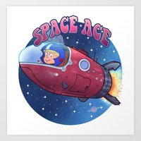 Space Ace Art Print