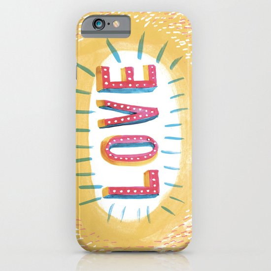 LOVE The Printed Peanut iPhone & iPod Case