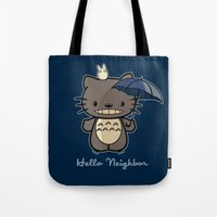 Hello Neighbor Tote Bag