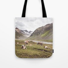 Tyrolean Haflinger horses I Tote Bag