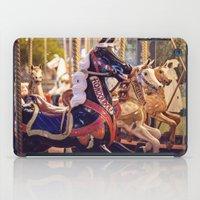 Paris Carousel iPad Case