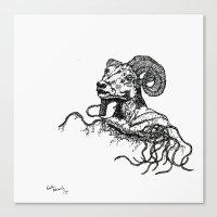Khnum Canvas Print