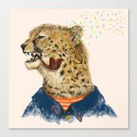 Cheetah Sailor II Canvas Print