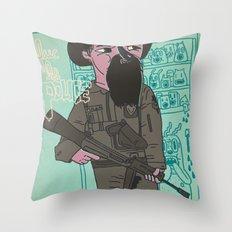 le police Throw Pillow