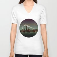 Gotham City Unisex V-Neck