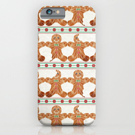 gingerbread man iPhone & iPod Case