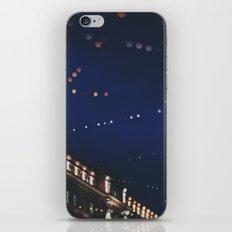 christmas lights ...  iPhone & iPod Skin