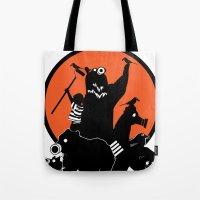 King Of The Urban Jungle Tote Bag