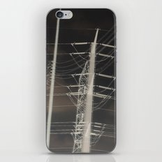 power lines iPhone & iPod Skin