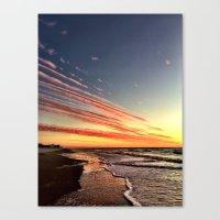 Cloud Spears Canvas Print