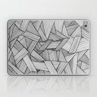 Straight Lines Laptop & iPad Skin
