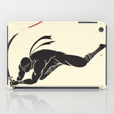 Ninja! Heads will roll! iPad Case