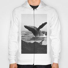 whale Wave Hoody