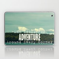 She Looks for Adventure  Laptop & iPad Skin