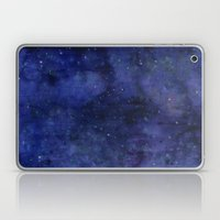 Galaxy Watercolor Texture Night Sky Stars Laptop & iPad Skin