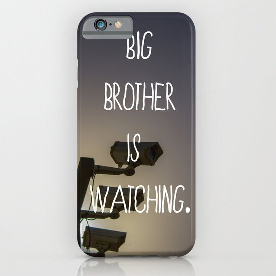 Big Brother iPhone & iPod Case