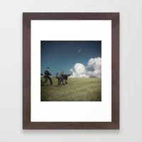 Kiteman Framed Art Print