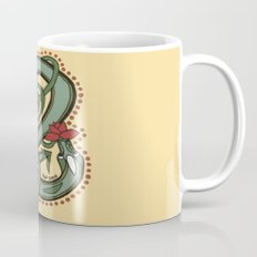 Celtic Dragon Letter E Mug