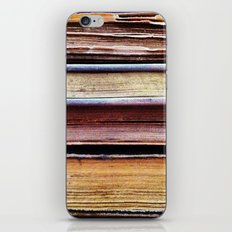 Old Books iPhone & iPod Skin