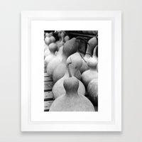 In Sync | Gourds | Fruit Framed Art Print