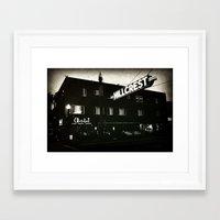 Chocolat Noir Framed Art Print