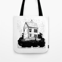 A House In Newfoundland Tote Bag