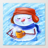 winter season Canvas Print