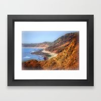 Jurassic Coast Framed Art Print