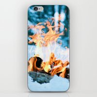 Ice And Fire iPhone & iPod Skin