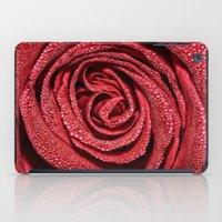 Raindrop Rose iPad Case