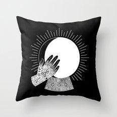 Waxing Gibbous Throw Pillow