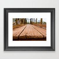 Kaua'i Red Dirt Framed Art Print