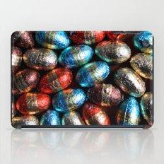 Easter eggs iPad Case