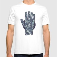 The Idle Hand Mens Fitted Tee White SMALL