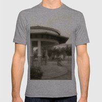 Plaza de Rincon # 2 Mens Fitted Tee Athletic Grey SMALL