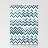 Zagged Chevron Stationery Cards