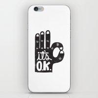 IT'S OKAY iPhone & iPod Skin