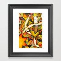 Dancer- Change of Season  Framed Art Print