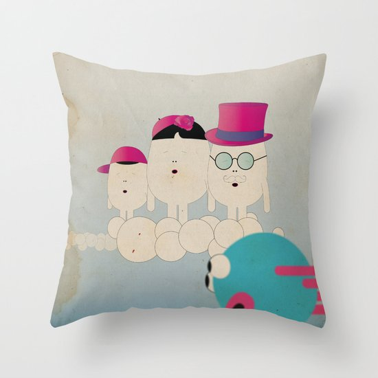 v o l o a t r e Throw Pillow