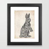 Rabbit2 Framed Art Print