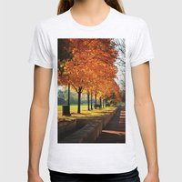 Urban Fall Womens Fitted Tee Ash Grey SMALL
